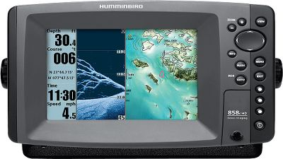 Fishing Enjoy the simplicity of having your sonar and GPS devices together in one powerful, fish-finding unit. With a 7 LED-backlit LCD screen, this unit displays both sonar and GPS images in full, high-definition color with 480x800-pixel clarity. Quickly identify cover and structure with Down Imaging, while using SwitchFire to locate and target fish with little to no guesswork. DualBeam Plus sonar uses a focused center beam and a second 60 beam to expand your coverage to an area equal to your depth. Precision 50-channel GPS chart-plotting uses the extremely accurate Wide Area Augmentation System (WAAS), a network of satellites and ground stations that provides improved GPS-position accuracy. Program in up to 2,750 waypoints, 45 routes and 50 tracks with as many as 20,000 points each. Professional Contour XD map software is programmed in, and includes over 3,000 U.S. lakes plus the major roads and interstates that will get you to them. Displays water temperature and speed. Crystal-clear viewing even in harsh sunlight. 4,000-watt peak-to-peak power output. Ethernet port shares sonar and GPS data between two units. LakeMaster and Navionics Platinum compatible. Unit comes with a cover, dual card reader and Instant Access preset buttons.Dimensions: 6H x 11W x 4D. - $949.99
