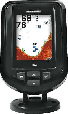 Fishing One touch is all it takes to get easy access to the advanced features of this fish finder Fish ID+, fish and depth alarms, zoom and more. Mark your waypoints, see your track and measure your speed on the internal GPS. Easy-to-use interface makes all these functions simple, clear and easy to see, even in sunlight. Use as a drop-in replacement for many factory-installed in-dash-mounted fish finders. Features a tilt-mount base and has a depth capability of 600 feet. 3.5, 320V x 240H 256-color screen. 1,600-watt peak-to-peak power. Dual-Beam transducer 200kHz/28, 455kHz/16. Color: Clear. - $199.99