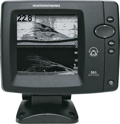 Fishing The user-friendly 561 DI sonar packs Down Imaging and DualBeam Plus technology into an affordable unit. Easy-to-read, 320V x 320H, 12-level-grayscale, 5 display. Down Imaging technology delivers exceptional detail directly below your boat. DualBeam Plus expands the sonar coverage to an area equal to the depth of the water youre fishing. 500-watt RMS and 4,000-watt peak-to-peak power output. - $104.88