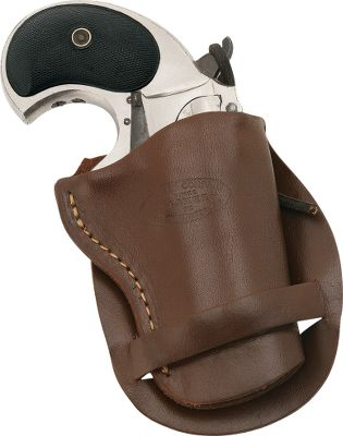 The Derringer Holster is crafted from top-grain leather in a classic western design. It fits derringers with a 2 to 3 barrel. Made in USA. Gender: Male. Age Group: Kids. Type: Cowboy. - $29.99