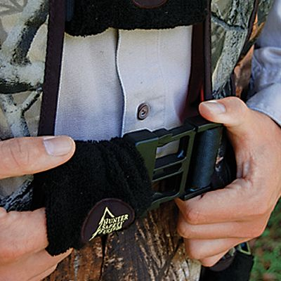 Hunting Buckle silencers will eliminate metal-to-metal contact between your harness buckles and your stand, bow, gun and any gear hanging around your neck. Constructed of quiet, sound-stopping fleece and elastic, just slip them over the buckles on your harness once you have them adjusted and youre ready to hunt. Imported. Per 8. Type: Buckle Silencers. - $9.99