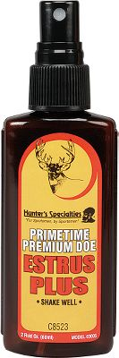 Hunting Collected during the 24- to 36-hour estrous cycle and enhanced with the most potent territorial and sexual deer musk. Simulates a buck's natural hormones. 2-oz. spray bottle. Type: Lures/Attractants. - $7.99