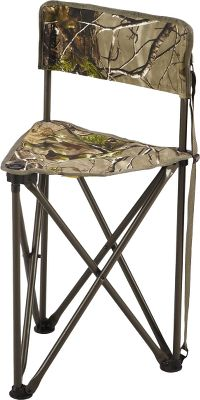 "Hunting Set it up next to the campfire or make yourself comfortable in a ground blind. This lightweight, yet sturdy folding chair is easy to take anywhere. The steel tube and polyester fabric construction will support up to 225 lbs. Convenient carry strap included. Imported.Maximum seat width: 16.5"".Seat height: 19"".Weight: 6.4 lbs.Camo pattern: Realtree APG . - $19.88"