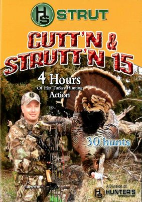 Hunting The Hunters Specialties Pro Staff is back on the road for another incredible turkey season. Join Matt Morrett, Eddie Salter, Alex Rutledge, Rick White and Phillip Vanderpool as they crisscross the country in search of springtime strutters. Available: Cuttn Struttn 17 Follow the H.S. Pro Staff as they pursue turkeys all over the country. Features 30 hunts with tips and tactics from some of the best turkey hunters in the nation. Includes a Ma Deuce diaphragm mouth call. 180 minutes. DVD. Cuttn Struttn 18 Join the H.S. Pro Staff as they chase turkeys. This fan-favorite video includes a Premium Flex double-reed diaphragm call featuring Infinity Latex. Includes 20 hunts and 31 kills. Over 210 minutes. DVD. Cuttn Struttn 19 30 turkeys in 20 exciting hunts across the USA with the H.S. Pro Staff. Full of tips and tactics you can use to bag your next gobbler. Includes a Triple Trauma diaphragm mouth call. Over 240 minutes. DVD. Color: White. - $7.88