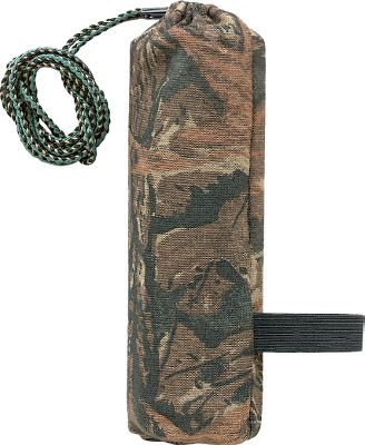 Hunting Rattling antlers are very effective, but they can often clang together, making noise when you don't want them to. With the bag, you'll find it's the easiest, most convenient way to produce sounds of big bucks battling, and the bag keeps them quite while you're on the move. Unique, flexible Realtree camo bag allows one-handed rattling. The camo-fabric bag is small and compact and fits into any fanny pack or back pack. The attached lanyard makes it easy to carry over your shoulder and the Rattling Bag's special construction allows silent movement through the woods. - $9.88