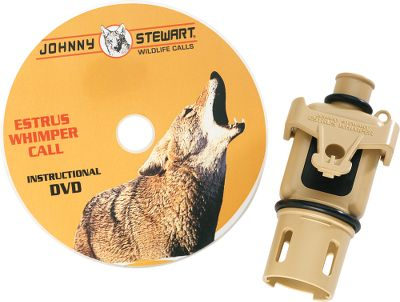Hunting A n easy-to-use Johnny Stewart Wildlife Call that produces all the sounds of a female coyote during breeding season, as well as those of a coyote pup in distress. Features the Mac Daddy mouthpiece. Includes instructional DVD. Type: Howlers. - $14.99