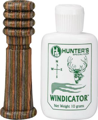 Hunting Its engineered wood barrel is weather-resistant and delivers clear, consistent jackrabbit distress sounds. Extremely easy to blow, it produces subtle sounds for close animals and loud calls for distant predators.Includes: Lanyard and Windicator odorless talc spray. Type: Closed Reed. - $9.88