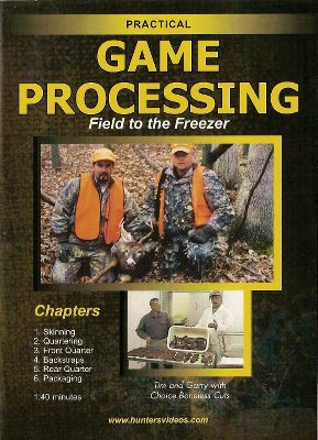 Hunting This DVD gives you professional, step-by-step advice on butchering your whitetail deer. You'll see six phases of game preparation in all, including skinning and front and rear quartering. No butchering detail is left out. Learn how pros cut choice boneless pieces of meat. Master Butcher Garry Zick provides clear and concise instructions. Zick is one of the country's most renowned butchers. You'll save a fortune on butchering costs. 140 min. Color: Clear. - $15.99