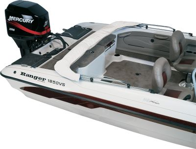 Motorsports Keeps bimini tops dry and clean while in storage, in transit, or on the water. Each storage boot is constructed of the same heavy-duty white vinyl material used in the bimini tops. Features a full-length zipper for a snug, easy-close fit. Available: White only. Color: White. - $59.99