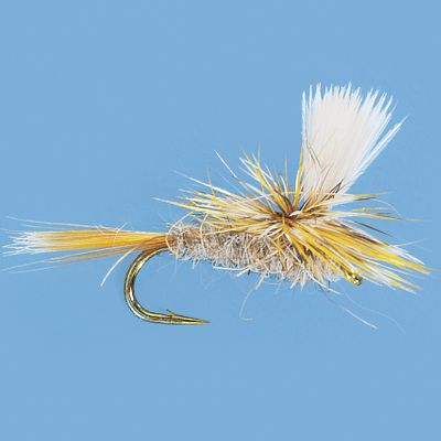 Flyfishing This fly is an impressionistic pattern that imitates a range of emerging or crippled insects. A great all-around fly that in its various sizes will match a variety of hatches. Per 3. Sizes: 12, 14, 16, 18, 20. Type: Dry Flies. - $5.99