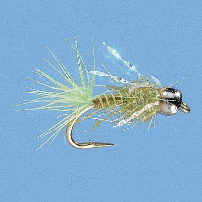 Flyfishing These mayfly nymph imitations are a must-have for every fly box. Per 2. Sizes: 14, 10. Colors: (009)Olive, (026)Orange. Type: Salmon & Steelhead. Color Orange. Size 14. - $3.88