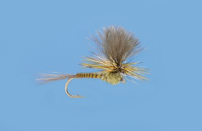 Flyfishing Imitates a dun struggling on the surface to emerge from its nymphal shuck. Imported. Per 3. Sizes: 10,12, 14. Type: Dry Flies. Color G Drake Para 12. - $3.88