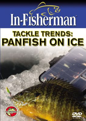 Fishing Panfishing has always been a vibrant part of the fishing scene. If one lumps the various panfish together as a group, perch, crappies, bluegills and other sunfish, they become the most popular overall target of anglers, surpassing even bass. Panfish are no less popular on ice. In this video we cover a variety of common situations you can expect to face in the field. Seasonal tactics, basin fishing tactics, spring bobber techniques, rigs, spoons, jigs, plastics, and electronics - the latest trends in icing panfish. 78 minutes. DVD. - $14.99