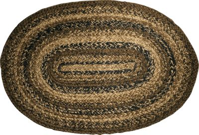Made of the highest-quality 100% natural jute fibers, these carefully handcrafted rugs deliver long-lasting use and enjoyment. The fibers in each are dyed and woven together to create warm, eye-pleasing elegance that goes well with any dcor. Spot clean with mild soap and water. An anti-slip floor pad is recommended. Imported. Size: 20 x 30. Shape: Oval, Rectangle. Designs: Pine Cone, Cinnamon, Tartan, Westbrook, Woods. Color: Natural. - $17.88
