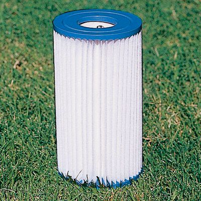 Camp and Hike Keep your pool clean with these replacement filter cartridges. Paper cartridge change varies on water conditions and how frequently the pool is used, but filter changes are recommended approximately every 2 weeks for water cleanliness. - $6.88