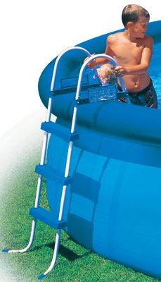 "Camp and Hike Your choice of 36"" or 42"" ladder with barrier. - $49.88"
