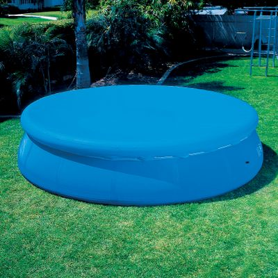 Camp and Hike Protect your pool when not in use with these durable pool covers. Sizes:8 ft.10 ft.12 ft.15 ft. - $15.99