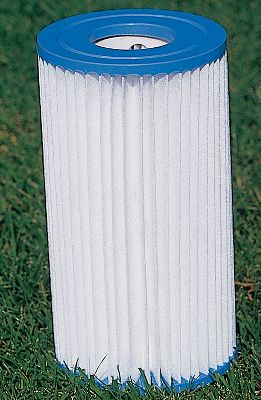 Camp and Hike Keep your pool clean with these replacement filter cartridges. Paper cartridge change varies on water conditions and how frequently the pool is used, but filter changes are recommended approximately every two weeks for water cleanliness.Available:A 59900 - Fits 500-1,000 gph pumpsB 59905 - Fits 500-1,000 gph pumps - $1.49