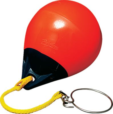 Motorsports Safely and easily retrieve an anchor. Slip the ring around anchor line, fasten ring ends onto the clip hook, drop into the water and motor past anchor. The buoy raises anchor, and the buoy pops to the surface with the ring holding anchor. Stainless steel hardware resists corrosion. Color: Stainless Steel. - $71.99