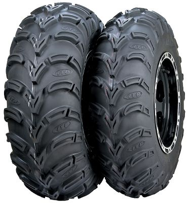 Motorsports Enjoy a smooth ride on the trail without sacrificing mud-gripping traction. ITPs Mud Lite AT Tires use six-ply construction with an extended-wear rubber compound to deliver performance in any situation. Semi-aggressive, 3/4 tread depth powers through mud, snow and sand, while its unique center pattern provides a smooth, forgiving ride. 25 height. Rim not included.Nebraska residents must add $1.00 per tire for state tax. - $99.99