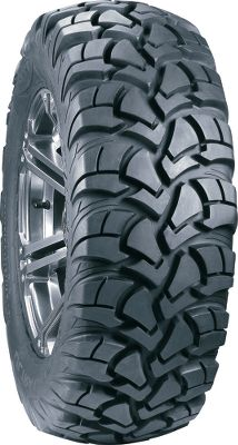 Motorsports Enjoy trail-hugging traction and eye-catching looks with the Ultra Cross Tire from ITP. Tightly spaced, overlapping tread and a low profile deliver a quiet, carlike ride on smooth, hard surfaces while adding stability at high speeds. Six-ply radial construction increases puncture resistance and overall durability, while a slow-wearing rubber compound gives you long tread life. A deep rim guard protects wheel lips. 3/4 tread depth; 26 height. Rim not included.Nebraska residents must add $1.00 per tire for state tax. - $209.99