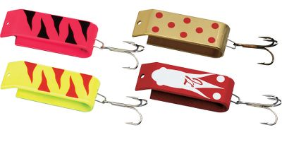 Fishing Jake's Trout kits provide great casting distances and they catch fish in both lakes and steams. The Spin-A-Lure Kit contains four 2/3 oz. lures. Size: 2. - $12.99