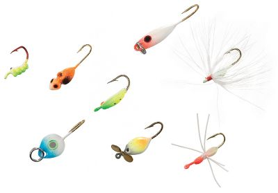 Fishing Eight of JB Lures' best panfish ice-fishing jigs in glow-treated color patterns bluegill, perch and crappie won't stand a chance! Sizes: 8, 10. Type: Ice Tackle. - $9.99