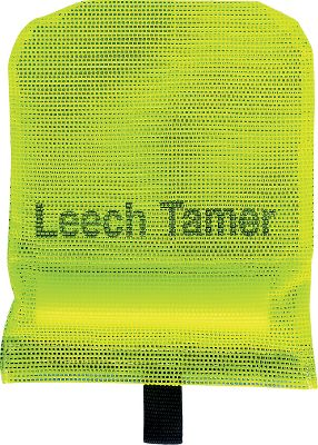Fishing The Leech Tamer is simply the best way to store and handle pesky leeches. No more curling in stagnant water. It keeps leeches flat and accessible, and the durable vinyl-coated mesh will last for years. It floats and stores easily in livewells, baitwells and coolers, or just tie off the side of the boat. Size: Medium/Jumbo. Dimensions: 11-1/2 L x 8 W. Size: MED. - $15.99
