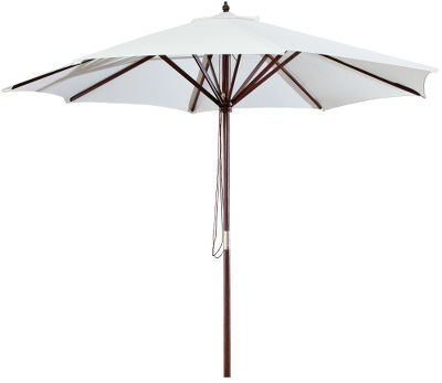 Camp and Hike It's a great addition to your patio table that provides shade from intense sunlight. To be used in conjunction with your patio table and base. Imported.Height: 9'.Colors: Natural, Navy, Burgundy, Olive. - $34.99