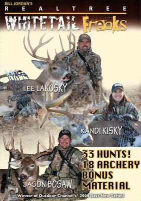 Hunting Experience exciting hunts for monster bucks. Available: Whitetail Freaks 7 The Freaks prove again that persistence, proper game management and hard work are the keys to bagging trophies. Youll watch 12 gun and 13 bow kills, including two harvests by NFL kicker Adam Vinateri. Includes great bonus footage. 150 minutes. Whitetail Freaks 8 The usual Freaks are doing what they do best. Troy and Jacob Landry along with Hannah Logsdon and newcomer Spenser Atwood deliver over 3,950 of bone-chilling antler and 120 minutes of heart-pumping action. Watch 16 gun harvests and 10 bow kills. 120 minutes. - $7.88