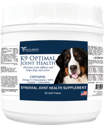 Hunting A proprietary blend containing glucosamine to help prevent arthritis and MSM to promote joint health. Protects and maintains your sporting dogs joints and muscles for more days in the field. This joint supplement is great for overall maintenance or to help restore an aging dogs abilities. Dogs love the soft chews flavors. Vet approved. Type: Pet Health. - $17.99
