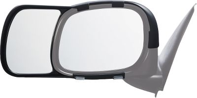Motorsports Improve your rearward vision when towing by adding these extensions to your factory-installed side mirrors. They are engineered to OE specs, snap on easily without any tools and provide a sleek, integrated look thats far superior to other add-ons. Per pair. Type: Mirror Accessories. - $49.99