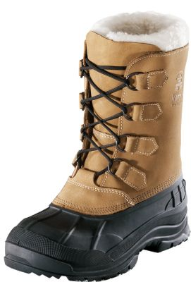 Protection from winter's worst for the entire family. Waterproof nubuck uppers are seam-sealed and have synthetic-shearling snow collars. Removable 9mm Zylextra liners with moisture-wicking linings. Snowgrip rubber outsoles ensure traction. Rustproof D-ring lacing system. Imported. Men's whole sizes: 8-13.Color: Tan. - $79.88