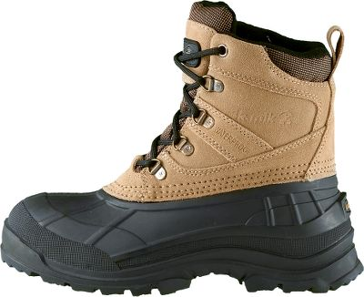 When slush and snow rule the day, trust your feet to boots with a -40 rating. Made with seam-sealed waterproof construction, boots have suede uppers, flexible rubber shells and Snowgrip rubber outsoles. Gusset tongues and padded collars keep snow out. Moisture-wicking linings and fixed 200-gram Thinsulate liners keep feet warm. Imported. Womens whole sizes: 6-10.Color: Tan. Type: Pac Boots. Size: 6. Shoe Width: B. Color: Tan. Size 6. Color Tan. - $69.88