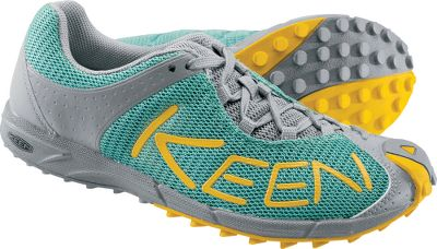 Simple, lightweight trail shoes with breathable textile-mesh uppers. Removable high-rebound EVA footbeds team with shock-absorbing, ultralight, compression-molded polyurethane midsoles to enhance comfort. Nonmarking rubber outsoles with multidirectional lugs for sure footing on any surface. Imported. Average weight: 13.8 oz./pair. Womens sizes: 6-10. Half sizes to 10. Colors: Sea Blue, Blue, Chartreuse. Size: 6 1/2. Color: Blue. Gender: Female. Age Group: Adult. - $69.88