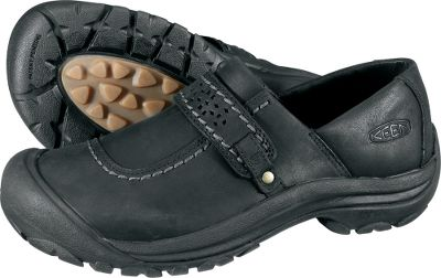 Slip-on convenience meets weather-resistant comfort. Waterproof leather uppers are lined with leather to wrap your feet in supple comfort. Compression-molded EVA midsoles. Removable metatomical EVA molded footbeds. Nonmarking rubber outsoles. Imported. Womens sizes: 6-11. Half sizes to 10. Colors: Forest Night, Black, Potting Soil. Type: Slip-Ons. Size: 6. Shoe Width: B. Color: Black. Size 6. Width Medium. Color Black. - $99.99