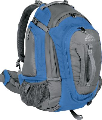 Camp and Hike Kelty's most popular pack for the trail. Comes in a 2,500-cu.-in. women's specific model or a 3,100-cu.-in. version . The women's model offers superior on-the-trail comfort and a customizable fit with its female-specific Cloud-Lock II Suspension system. It boasts a roomy main compartment with organizational pockets. Kelty packs offer trail-taming performance and high-end technology at an affordable price. The Cloud-Lock II Suspension is internally adjustable for stability. A single LightBeam II stay absorbs the shock of climbs and descents. The dual-density foam waistbelt absorbs heavy loads and a moisture-wicking back panel keeps you dry. Twin location load stabilizers and a stout I-beam keep your pack balanced. Padded S-shaped shoulder straps are contoured to your body. The top is curved, so you can move your head freely. The body is made of rugged 600-denier polyester ripstop and 600-denier polyester oxford with 610-denier Cordura -reinforced panels in key areas. Sternum strap. Lash tabs. Key fob. Imported. - $89.88