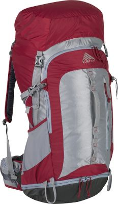 Camp and Hike This pack was designed for warm weather and medium-weight loads. The Agile suspension system combines a single, lightweight aluminum stay and sculpted aluminum wire for direct load transfer to the hips. Spring-loaded back-panel with molded lumbar and scapula pads provides support and multidirectional airflow. Shell is made of rugged 330-denier Velocity polyester and lightweight 210-denier HD polyester. High-stress points are reinforced with 420-denier ballistic nylon for long-term performance. Load-stabilizing straps are strategically located for maximum control. Scherer Cinch system makes waistbelt adjustment quick and easy. Integrated pull-out rain cover. Hydration system compatible. Imported.Torso fit range: 14-1/2 - 18-1/2.Volume: 2,745 cu. in.Weight: 4 lbs. 1 oz.Length: 30.Width: 12. Depth: 13.Size: S/M.Colors: Wine, Graphite. - $189.95