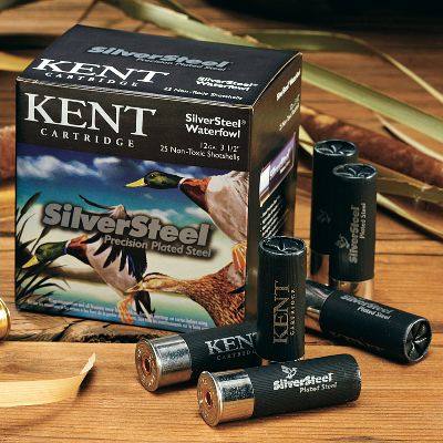 Hunting Kent took the Fasteels proven quality and high-velocity performance and made it even more effective with precision-plated steel shot and custom-blended powders. The zinc-plated shot has a consistently smooth surface, delivering increased penetration and consistent, deadly patterns. It also resists corrosion, an important feature in wet weather, icy duck boats and muddy fields. Made in USA. 25 shells per box. 10 boxes per case. Type: Steel. - $189.99