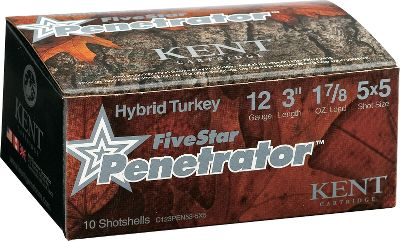 Hunting A 50/50 mix of high-density Tungsten Matrix and field-proven Diamond Shot lead delivers shorter shot strings for denser, more lethal core patterns and maximum energy on impact. This penetration-focused blend features balanced No. 5 shot in two hard-hitting densities for providing ballistically perfect performance with the tight-patterning edge of nontoxic shot and the knockdown power of lead. Rigorously tested in multiple turkey choke configurations for true-patterning performance in a variety of turkey hunting situations.10 rounds per box. - $19.99