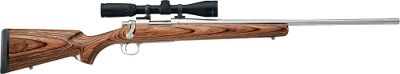 Hunting Using the lightest weight laminates and carved from premium Vermont Rutland Corporation hardwoods, these classic-style rifle stocks offer balance, weather resistance and durability. Slender, well-defined open grip. The straight-line design of the cheekpiece reduces cheek slap from recoil. Proportioned to complement 18 to 26 barrels. Includes recoil pad and two sling-swivel studs.Color: Brown. - $184.99