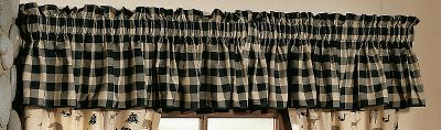 Entertainment This poly/cotton percale Valance makes an attractive addition to your bedroom set. Valance measures 88 W x 15 L with 3 header. Pattern: Northern Exposure. Gender: Male. Age Group: Adult. Type: Valances. - $29.99