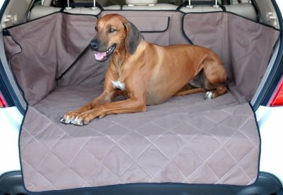 Hunting Protect your SUV from dirt, mud, grime and moisture with this universal-fit cargo cover. Quilted to keep pets comfortable too. Handy storage pocket for leashes, toys, retrieving dummies and other pet accessories. Crafted from vinyl-backed, 600-denier nylon to keep moisture from reaching your vehicles carpet. Easy to install with adjusting Velcro straps. Imported.Colors: Tan, Gray. Type: Travel Accessories. Type: Seat Covers. Tan. - $69.99