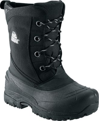 To repel the elements, these boots feature Kodiak REPEL X 1,680-denier nylon quilted uppers. They are treated with a durable water- and wind-resistant coating. Injected thermal rubber shells are guaranteed waterproof. Eyelets are rustproof gunmetal. Needle-punched liners are 9mm wool/felt/polyester and are removable. For added warmth, insoles are 2.5mm felt. Comfort rated to -58F. Imported. Height: 11.Average weight: 4.5 lbs./pair.Mens whole sizes: 8-13 medium width. Color: Black. - $49.88