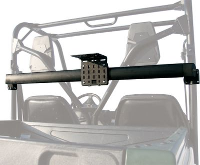 Camp and Hike Create space on your UTV. Take more hunting or camping gear, fuel, water, a tool box, cooler and more with this cut-to-fit Utility Gear Rail System. Mounts to the front or rear of UTVs. Universal fit for tubing sizes 1.25 to 2 . Multiple mounting options that won't get in the way of your dump bed. Made of durable aluminum. Add popular bracket accessories, like fuel and water packs, gear grips, baskets, gun boots and Kolpin's patent-pending Gear Lock and Load plates. Includes rail, one Gear Rail Bracket and mounting hardware. - $124.99