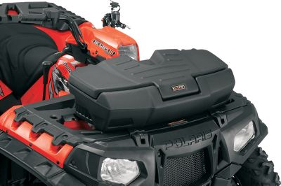 Motorsports Large ATV boxes provide ample storage for your equipment and supplies and feature sleek, contoured designs for completely unobstructed views while operating your ATV. Tough, double-wall lid construction for added rigidity. Made of roto-molded, UV-stabilized linear low-density polyethylene construction. Each trail box includes a separate, heavy-duty, keyed lockable center latch. Available: Front Trail Box 30-14L x 13-12W x 8.8H. Rear Trail Box 37L x 17.3W x 13.6H. Size: 3RAIL BOX RACK. Gender: Male. Age Group: Adult. - $22.88