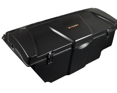 Motorsports Features two, 1-cu.-ft. insulated storage compartments with drain plugs for wet/dry versatility. A center console provides an additional 0.4 cu. ft. of storage. High-impact, rotomolded polyethylene construction for lasting durability and UV-stabilized colorfastness. Foam-filled body for cold- and heat-trapping insulation. Includes KXP plungers for easy attachment. Fits all Polaris Teryx models. - $419.99