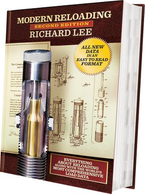This is an in-depth, 720-page exploration of reloading by the foremost inventor of reloading products, Richard Lee. The detailed loading techniques will aid the shooter, hunter and professional reloader in producing precision ammunition in high volume. Bullet casting, lubricating, and the author's formula for calculating proper charges for cast bullets are covered, along with virtually all load data published by the powder supplier. There are over 500 pages of charts and data with many illustrations. Hard cover. - $19.99