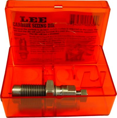 Built to last, Lee dies deliver improved reloading with less hassle and consistency that improves accuracy. Engineered for a lifetime of use. Its diamond-lapped inner ring eliminates the need for case lube. - $17.88