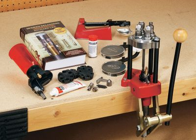With a sturdy iron base, rigid cast-iron frame, powerful long stroke and quick-turret-change versatility, this press has the ability to reload any centerfire cartridge from the smallest varmint caliber to the largest magnum cartridges. Typical single-stage reloading requires that dies be individually changed out between stages. This press will speed up your reloading considerably with a turret that holds up to four dies. Just rotate the turret to advance to the next stage and you can load complete rounds one by one without stopping to change dies. Buy extra turrets for other dies and calibers, and youll be able to change from one caliber to another in seconds. The large ram is drilled completely through to dispose of spent primers through an attached clear plastic tube. Lees built-in Lever Prime System and the optional Lee Safety Prime make priming clean and easy. (Dies and shell holder not included.) Kit includes:Classic Turret Press, Pro Auto-Disk powder measure and riser, large and small Safety Prime, cutter and lock stud, chamfer tool, small and large primer pocket cleaner, a tube of Case Sizing Lube, Safety Powder Scale and a Modern Reloading Second Edition. Color: Clear. - $229.99